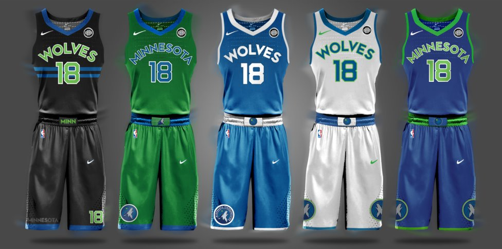 36e8af23 Así podrían ser los uniformes de la NBA de la próxima temporada - AS.com