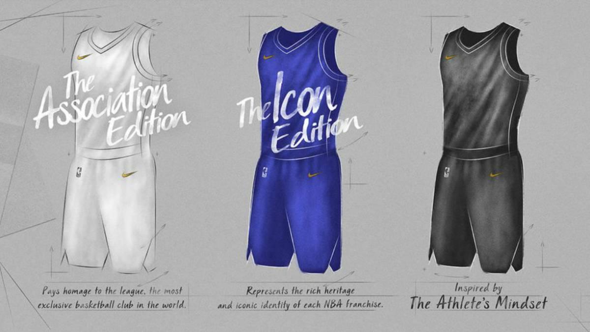 bf3b2dc5165 Nike revela los primeros detalles de los nuevos uniformes NBA - AS.com
