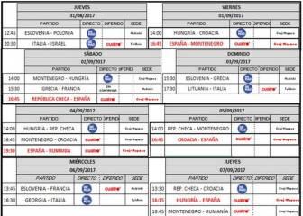 Calendario Eurobasket.Eurobasket 2017 Grecia Francia Tv Horario Y Donde Ver En