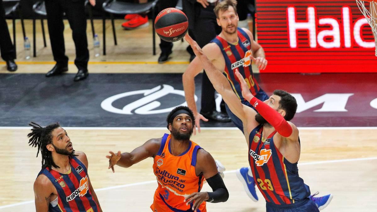 FC Barcelona no da opciones a San Pablo Burgos tras el descanso, mientras que Baskonia tuvo que remontar a Valencia Basket para llegar a la final