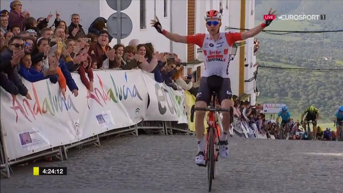 Andalucia Ciclismo Calendario.Resumen De La Vuelta A Andalucia Etapa 1 Wellens Se Impone