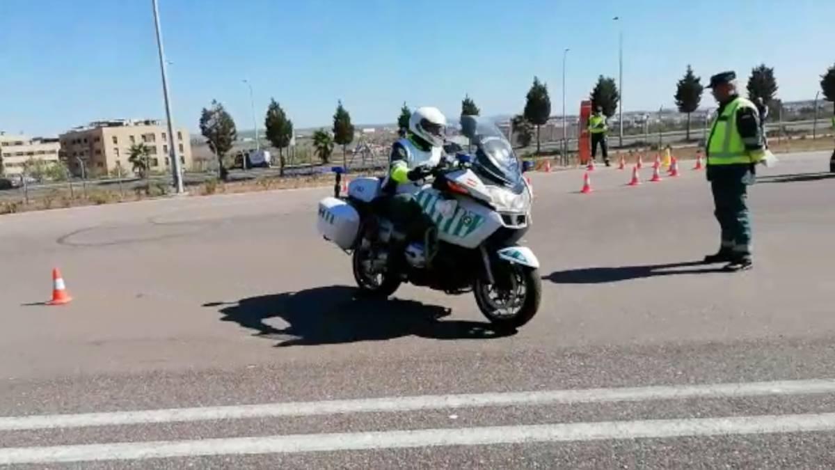 La Guardia Civil se prepara para La Vuelta%3A 20 motoristas nuevos