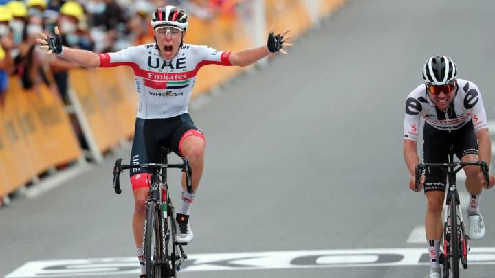Tour de Francia | El 'Día de Eslovenia': Pogacar gana etapa y Roglic ya es  líder - AS.com