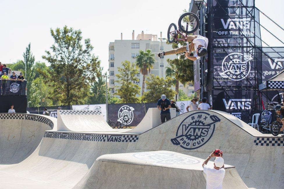 16c8ebe514 Vans BMX Pro Cup World Championships Málaga 2018 Ruben Vigil Fotos Skatepark  Rubén Alcántara tom van