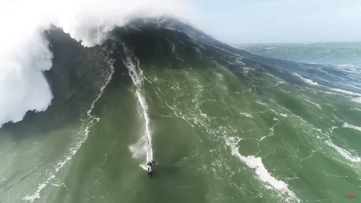 Surf | La ola más grande del mundo abre la temporada de olas ...