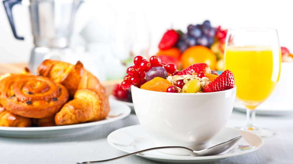 Ejemplos de desayunos saludables para adelgazar