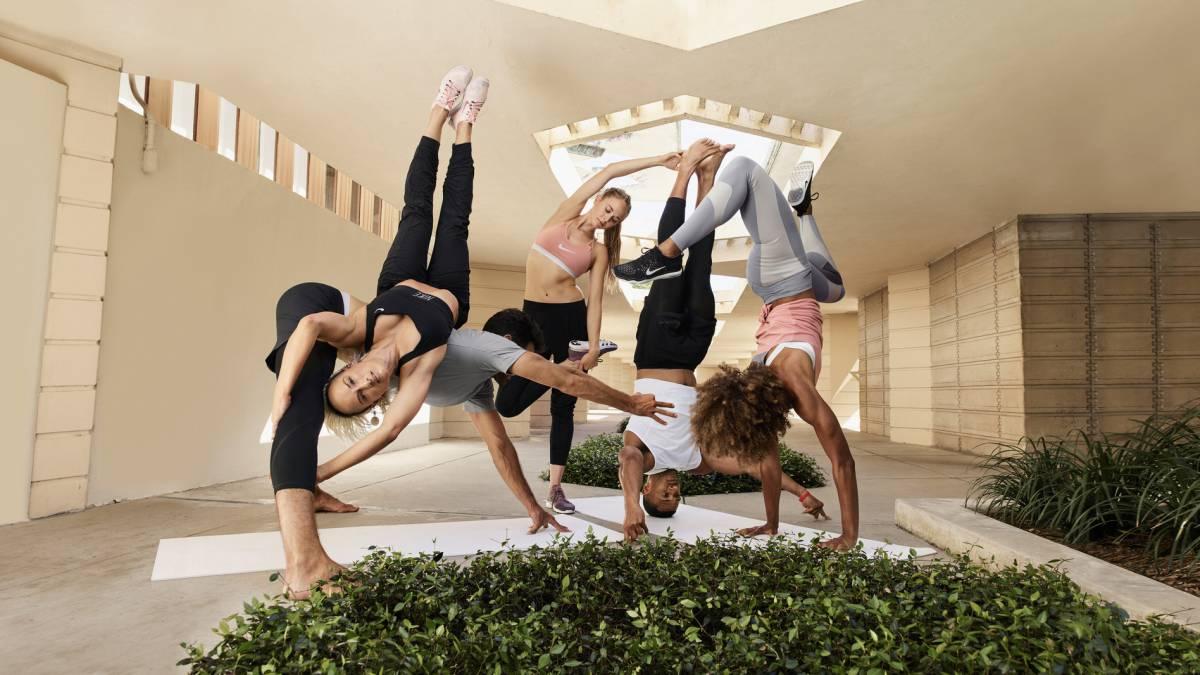 entrada ventaja Decoración  Yoga donde quieras a través de los nuevos ejercicios de la app de Nike -  AS.com