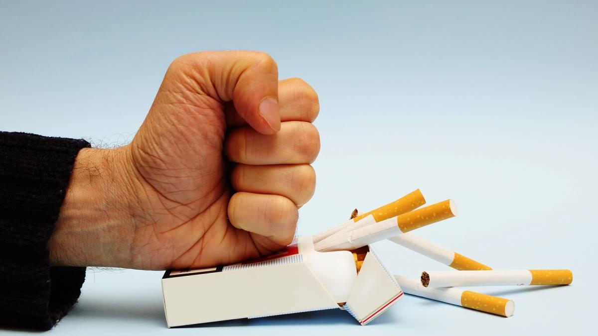 dieta para despues de delegar de fumar de golpe