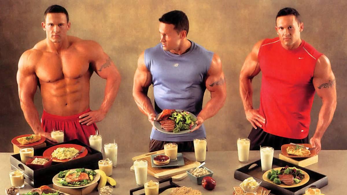ejemplo de menu para aumentar masa muscular en mujeres