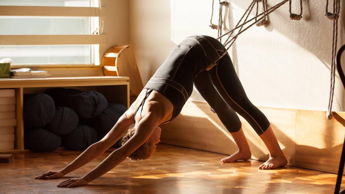 El yoga Iyengar: es más fácil con ayuda externa - de Yoga