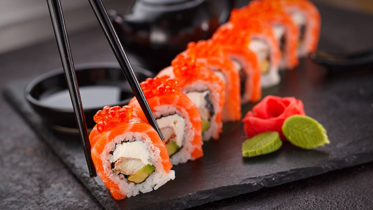 sushi para dieta