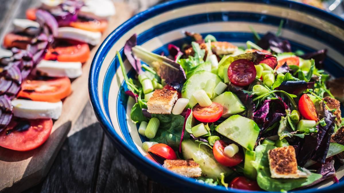 diabetes dieta proporción comidas imágenes