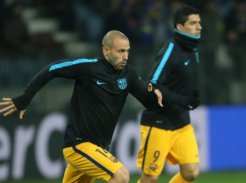 Insult used by Mascherano cost Damian Suárez 2 game ban - AS com