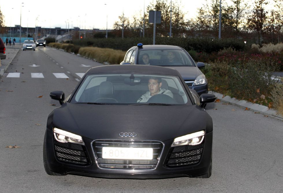 photo of James Rodríguez Audi - car