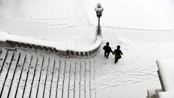 La gran nevada en España: los lugares donde se espera - AS.com