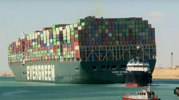 Desbloqueo del Canal de Suez, en directo: reflote del buque encallado Ever  Given | Última hora - AS.com