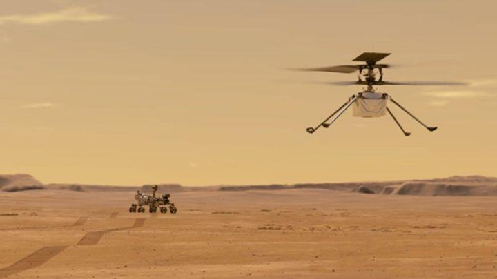 Las primeras acrobacias del Ingenuity de la NASA en Marte - AS.com