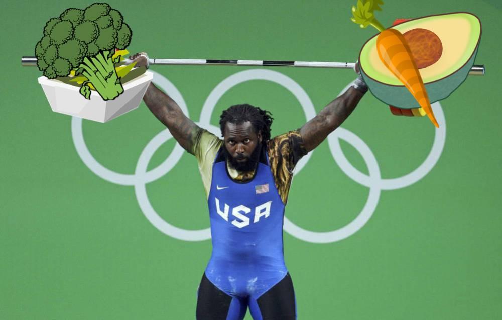 Kendrick Farris Vegano Y Levantador De Pesas Así Es El Atleta Más Fuerte Del Equipo Olímpico De Ee Uu As Com