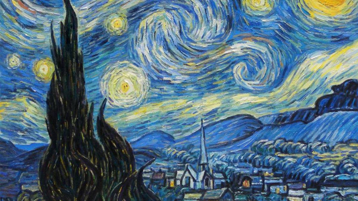 Twitter reinventa las obras de Van Gogh en diez GIFs