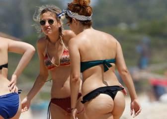 El Descuido De Blanca Suarez Con Su Bikini Al Darse Un Chapuzón En