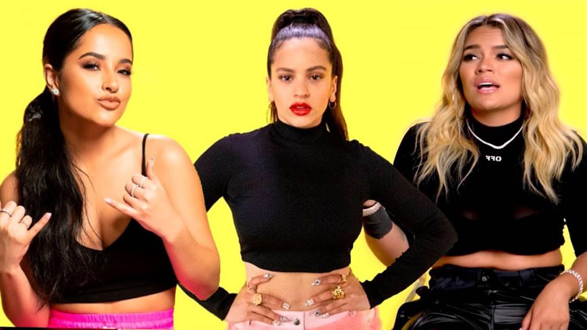 Rosalía, Becky G o Karol G: ¿Quién canta mejor sin autotune? - AS.com