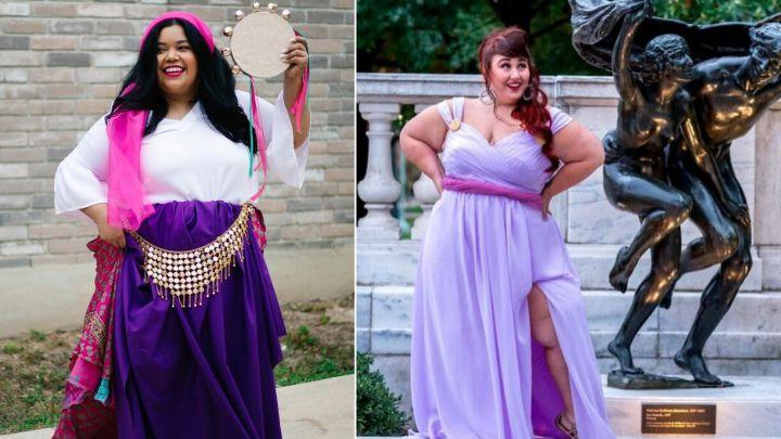 Modelos De Talla Grande Se Disfrazan De Princesas Disney Para Retar A La Industria As Com