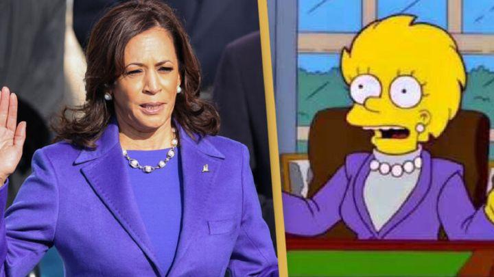 Predijeron también 'Los Simpson' la llegada de Kamala Harris a la Casa Blanca? - AS.com