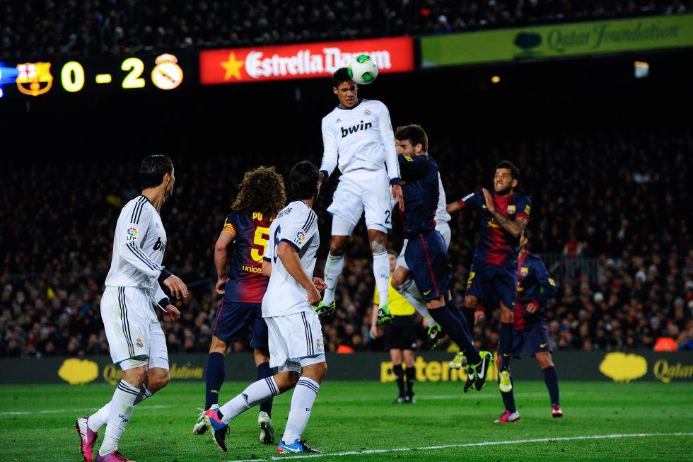 Varane: cero faltas y dos goles en la semifinal ante el Barça - AS.com