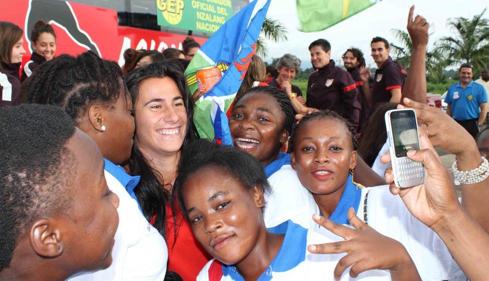 Ecuatorial guinea chicas de LA MUJER