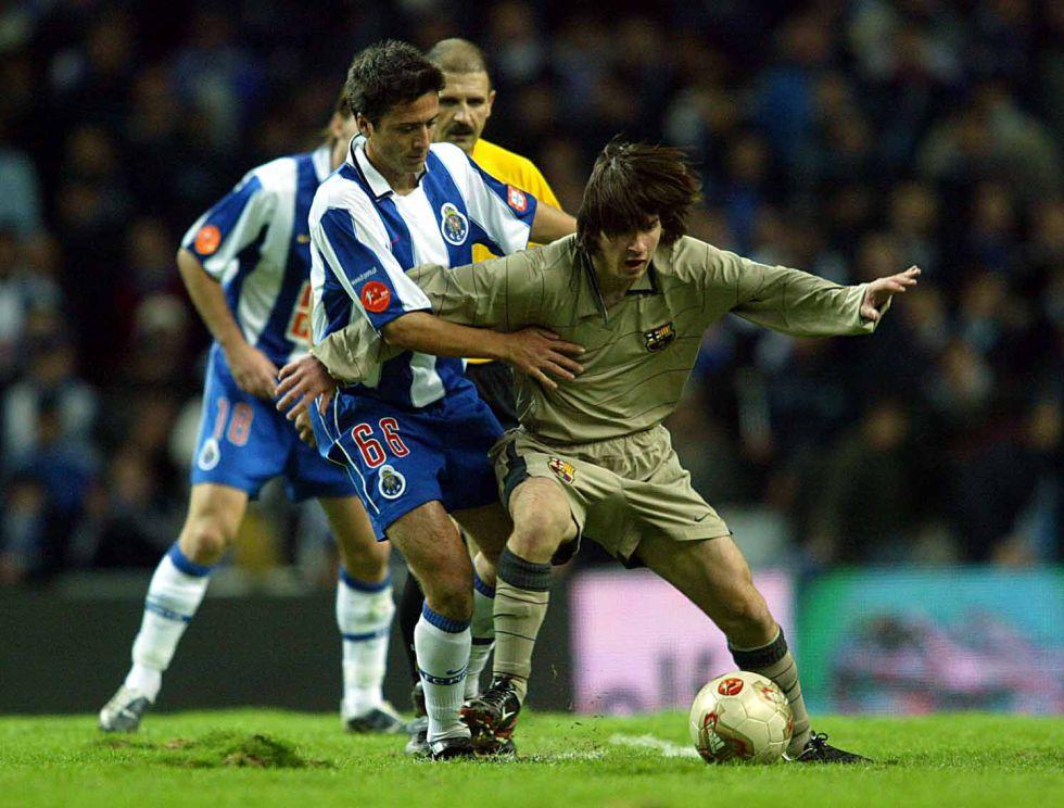 Se cumplen diez años del debut de Messi con el Barça en Oporto - AS.com