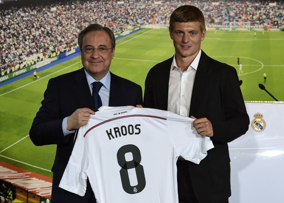promo code 75168 02d28 Kroos unveiled: