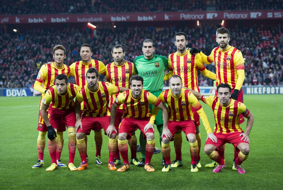 d57956918 La Liga autoriza al Barça a jugar con la senyera ante el Athletic ...