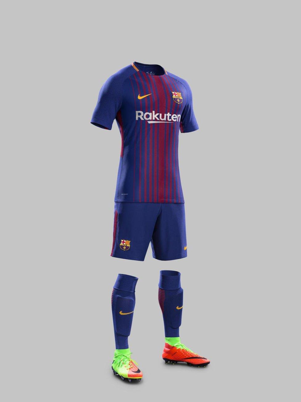 Barcelona  La evolución histórica de la equipación del Barcelona - AS.com 6ce3de814ab52