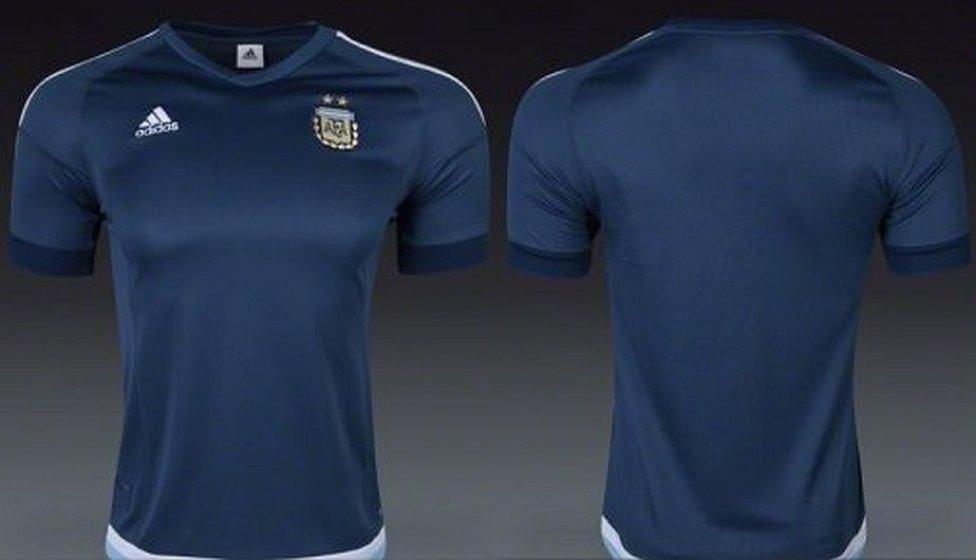 Copa América 2016 Las camisetas de los equipos que jugarán la Copa América  2016 - AS.com f12607005955b