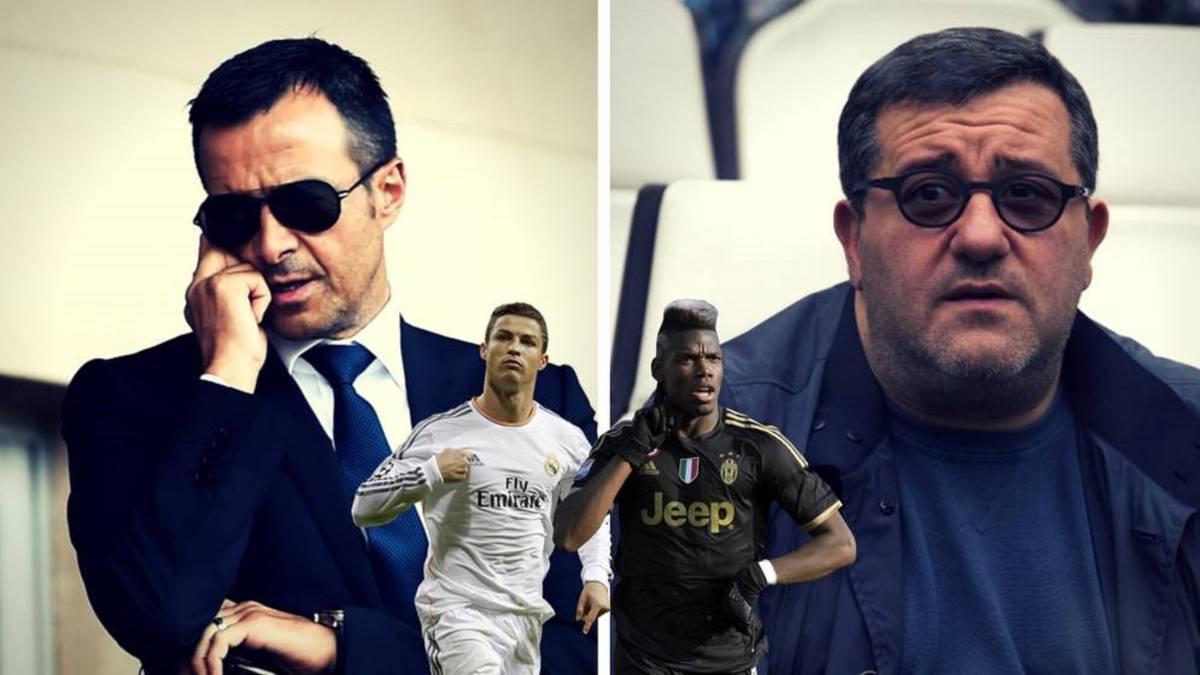 Agentes de futbolistas