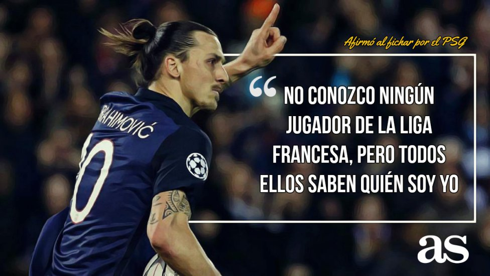 Las 7 Mejores Frases De Zlatan Ibrahimovic Ascom