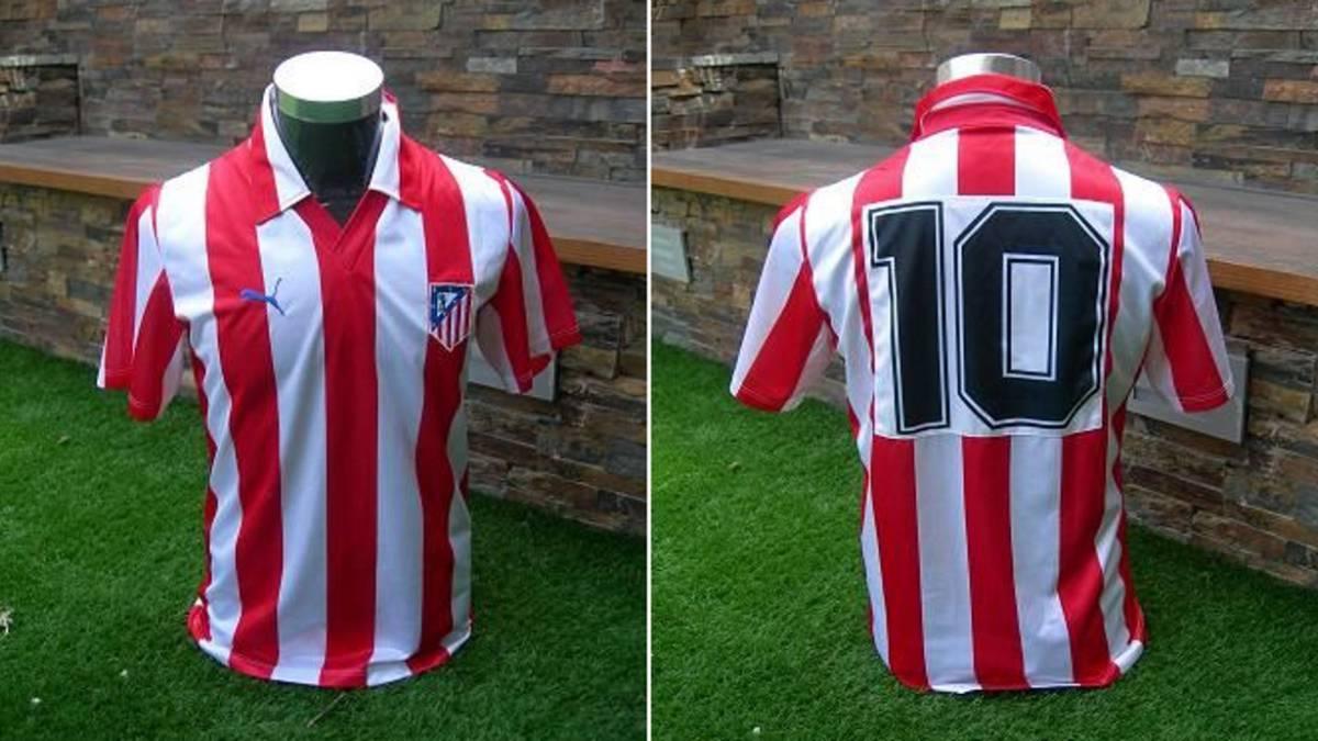 883bd76c23c Atlético de Madrid | La camiseta Puma de los 80, de Paulo Futre a Simeone -  AS.com