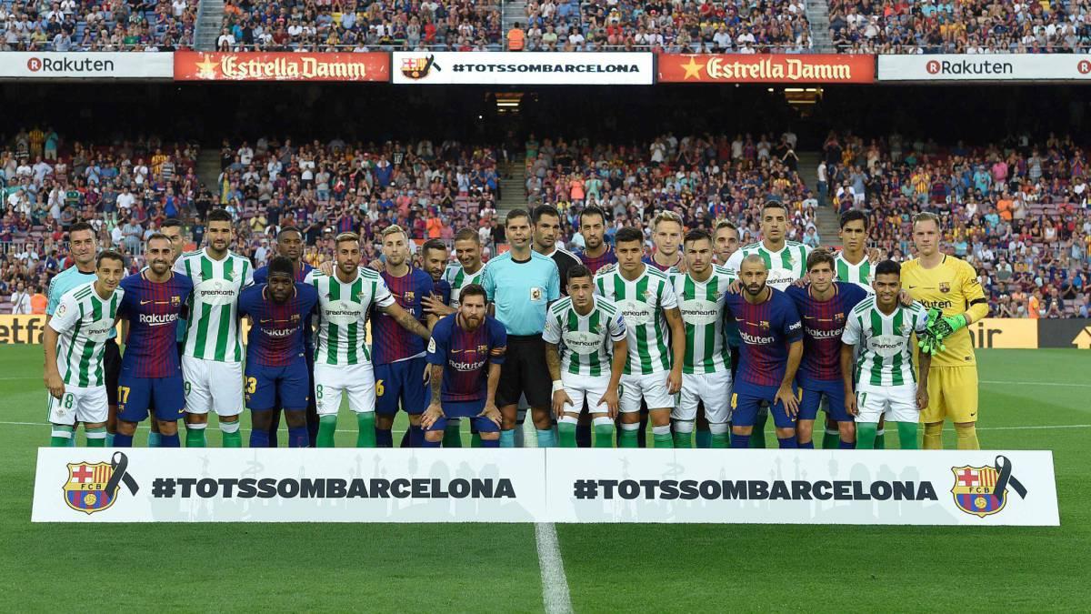 5369a6318 Sigue el partido entre Barcelona vs Betis en directo y en vivo, partido de  la