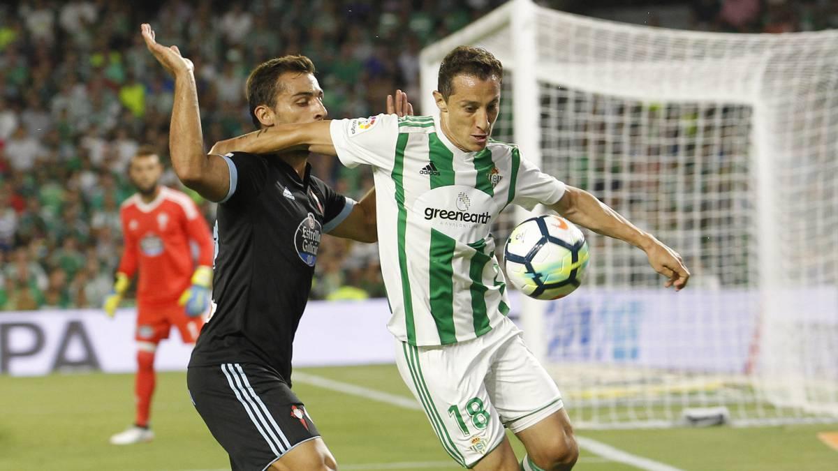 3208e37e5 Betis 2-1 Celta: Resumen, goles y resultados - AS.com