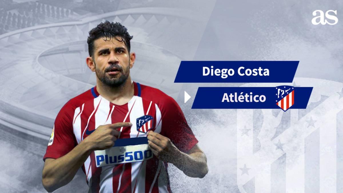 icial el Atlético anuncia un principio de acuerdo por Costa