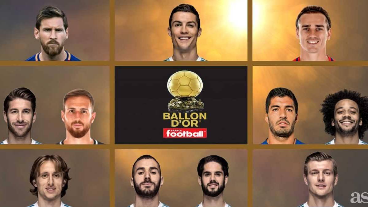 Ya están los 30 nominados  entran Cristiano ac6cd01fe6e0d