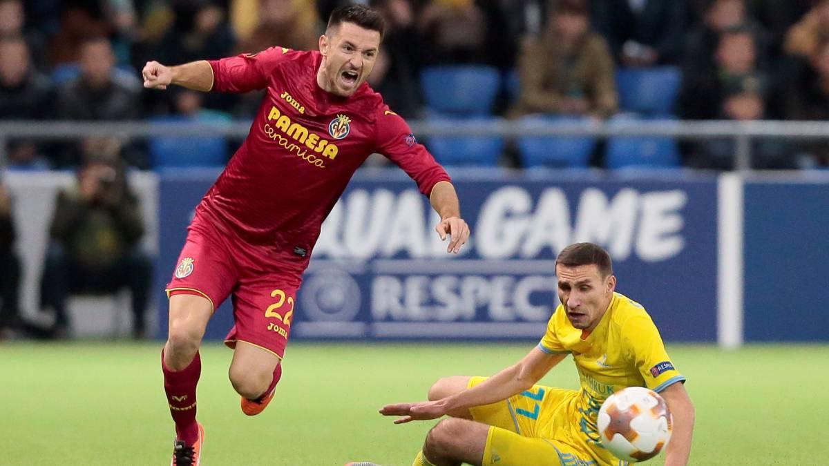 Astana 2 3 Villarreal Resumen Resultado Y Goles Del Partido As Com