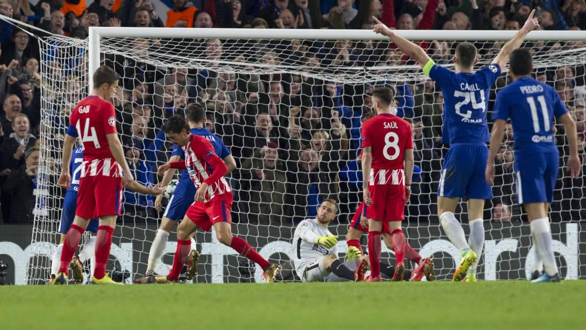 Chelsea 1 1atletico De Madrid Resumen Resultado Y Goles As Com