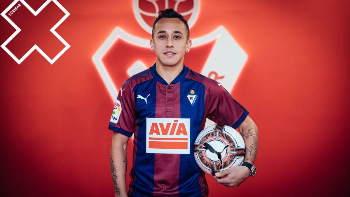 """Fabián Orellana: """"Me gusta la seriedad del Eibar"""" - AS.com"""