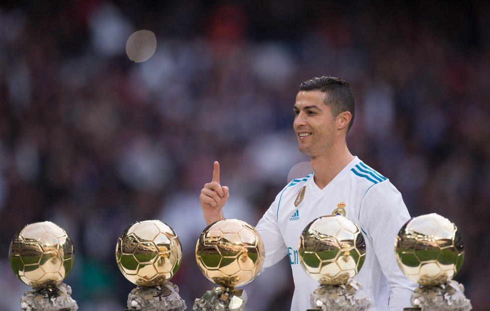 Resultado de imagen para real madrid balon de oro