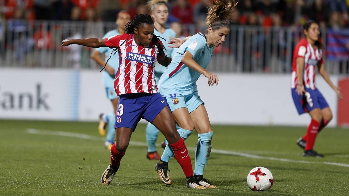 Duelo de titanes en la liga Iberdrola: Barcelona vs Atlético - AS.com