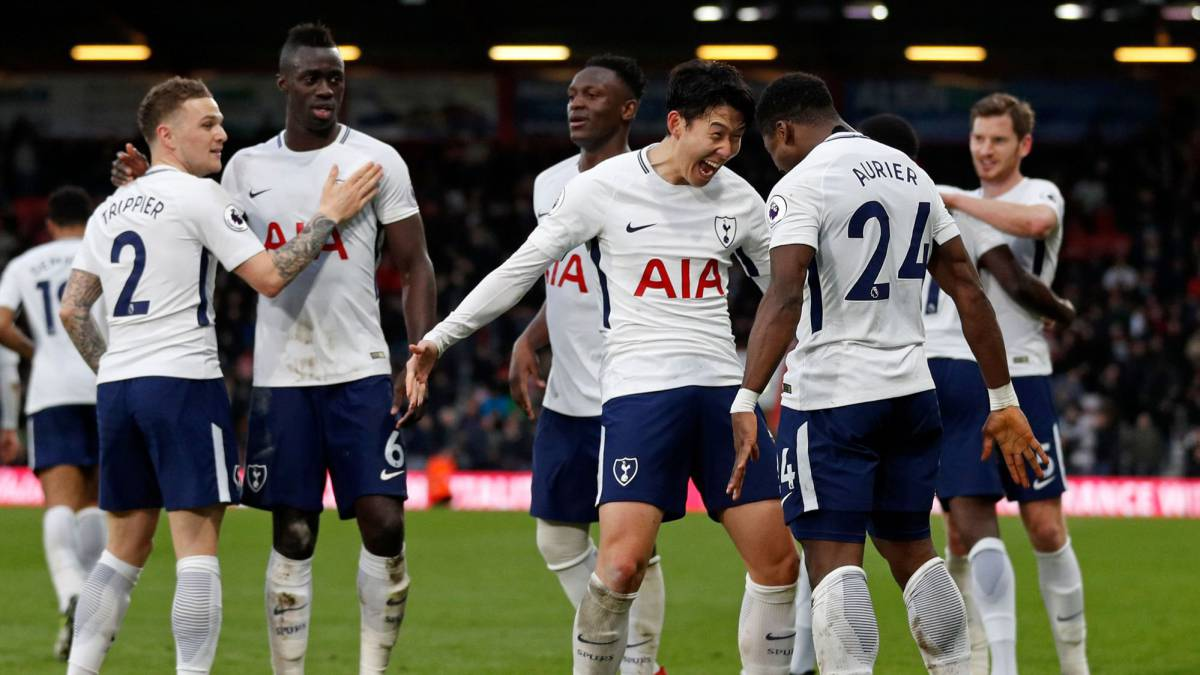 Fútbol Internacional | Bournemouth 1 - Tottenham 4: El Tottenham golea para  olvidar la Champions en Bournemouth - AS.com