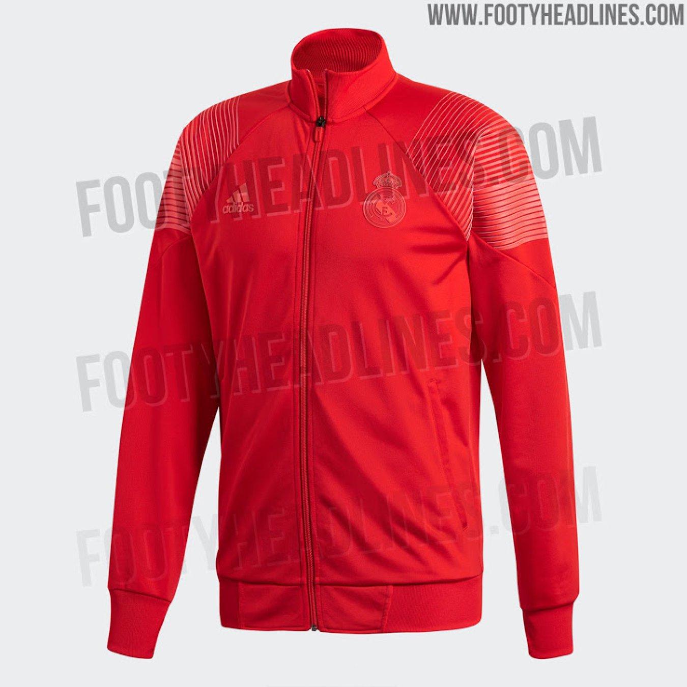 3d9480eb57eef La sudadera Adidas Tango roja que lucirá el Real Madrid durante la temporada  2018-2019.