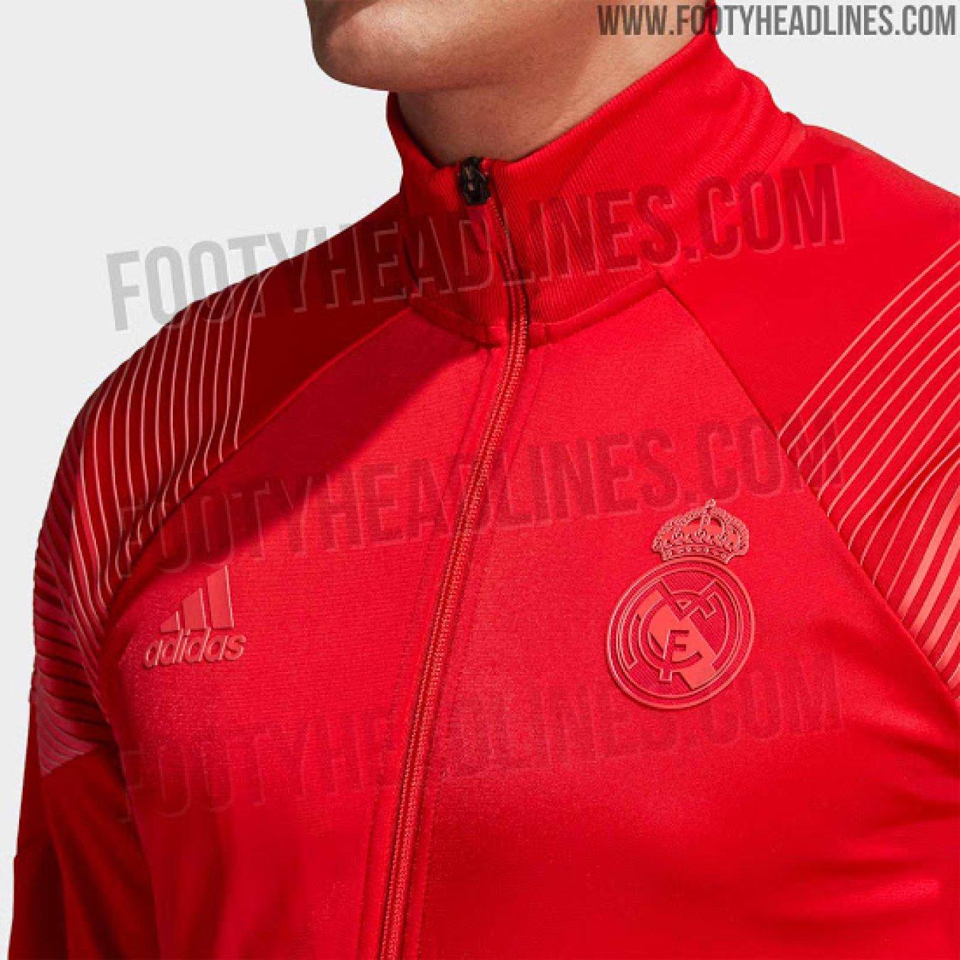 La sudadera Adidas Tango roja que lucirá el Real Madrid durante la temporada  2018-2019. c9a5b56d2bc10