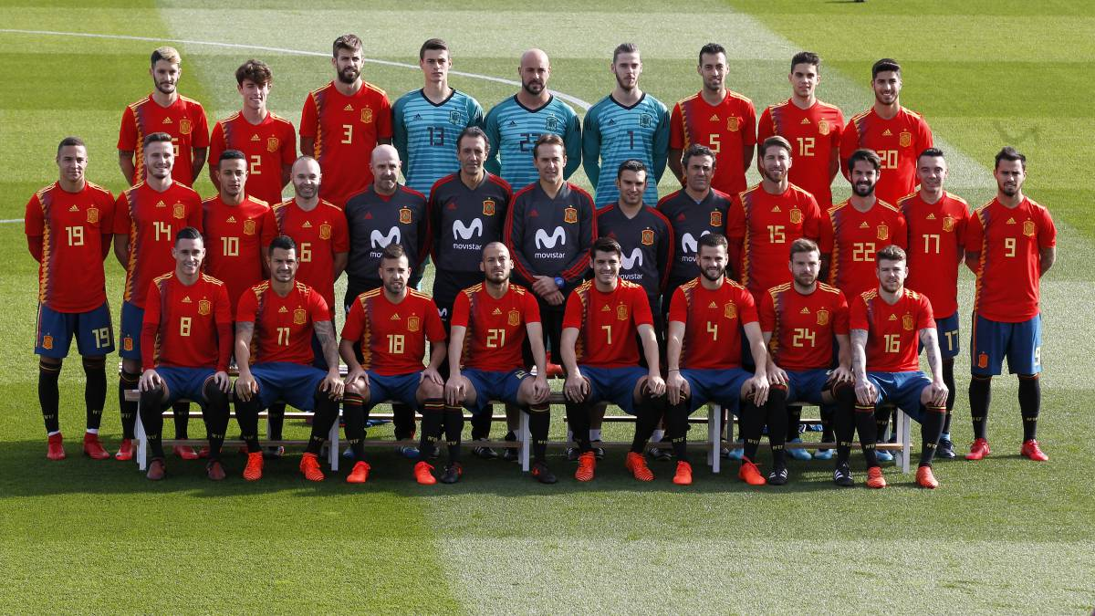 434245b1e366b Julen Lopetegui ya tiene 19 futbolistas fijos para el Mundial - AS.com